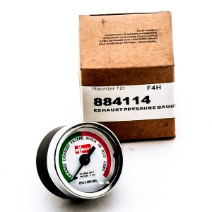 884114 Exhaust Pressure Gauge for Busch Vacuum Pumps