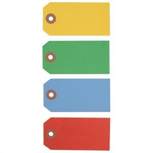 Colored Processing Eyelet Tags
