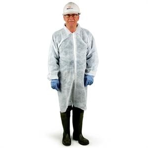 Disposable Lab Coats - Case of 30
