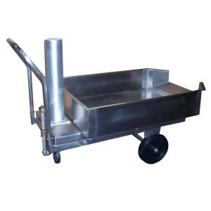 Elevating Offal Cart
