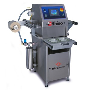 Rhino 4 Food Tray Sealer Machine, MAP Optional
