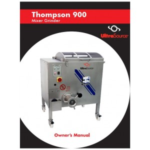 Mixer-Grinder Thompson 900 Owner's Manual