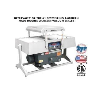 Ultravac® 2100 Double Chamber Vacuum Packaging Machine