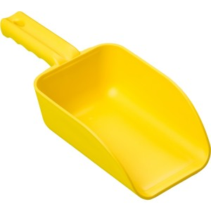 500304 32 Ounce Yellow Hand Scoop