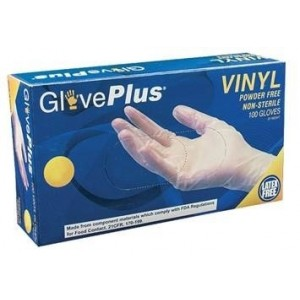 Vinyl Disposable Gloves - GlovesPlus