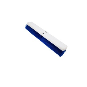 "UltraSource Omni Sweep Push Broom Sweep Head, 18"", Blue"