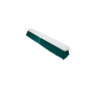 509161 UltraSource Push Broom Head with Green Bristles