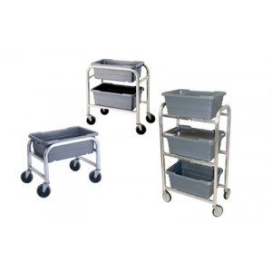 Vertical Tote Dolly - From 1 to 3 Tote Capacity Options Available - Prices start at $94.16