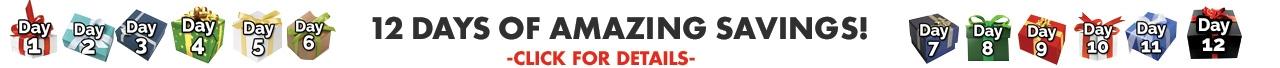 12 Days of Amazing UltraSource Product Savings