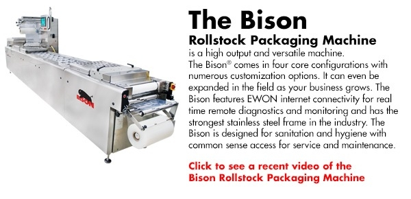 Bison Rollstock Packaging Machine