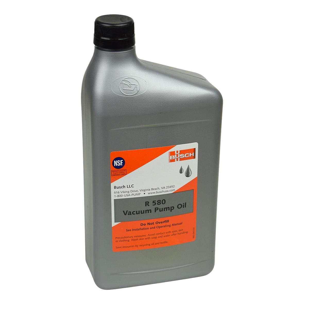 15W Non Detergent Busch Chamber Vacuum Sealer Pump Oil 884750
