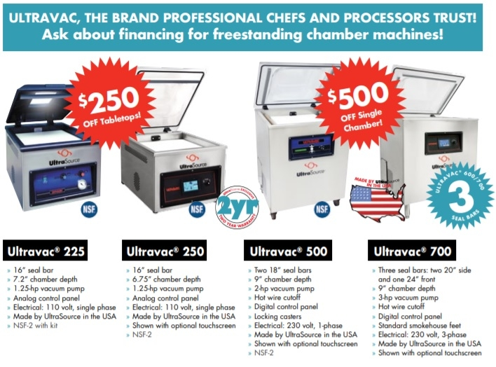 UltraSource Ultravac Chamber Vacuum Sealer Deals