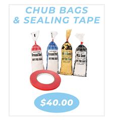 Chub bags and tape