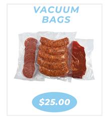 Vaccum bags - 8 x 12