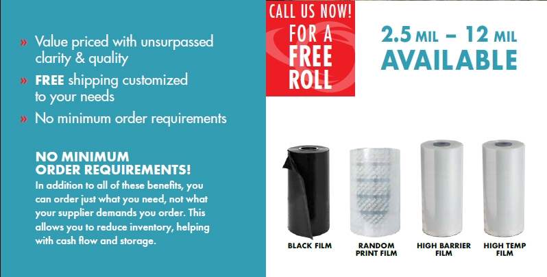 UltraSource roll stock film