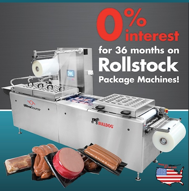 Get 0% 36 Month Financing on Rollstock Packaging Machines