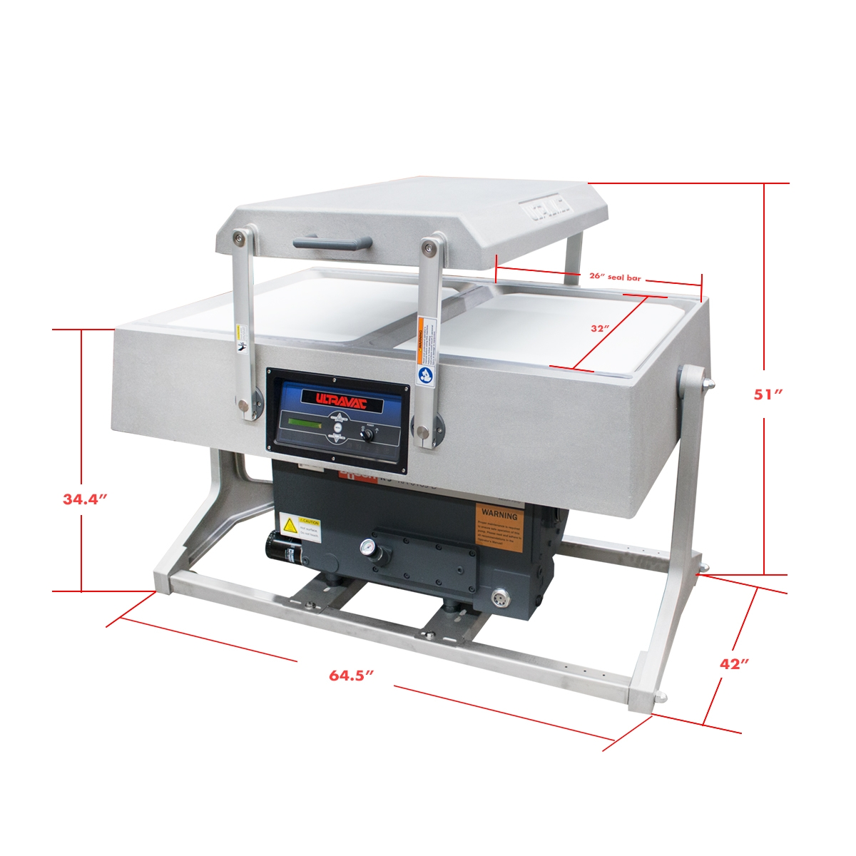 Ultravac 2100 Double Chamber Vacuum Packaging Machine
